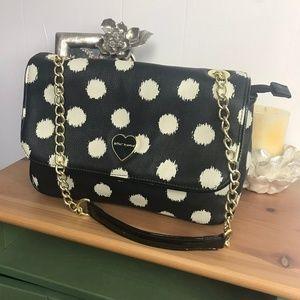 Betsey Johnson Purse Shoulder Bag Polka Dot